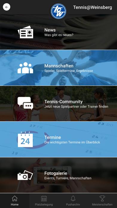 Tennis@WeinsbergScreenshot von 1