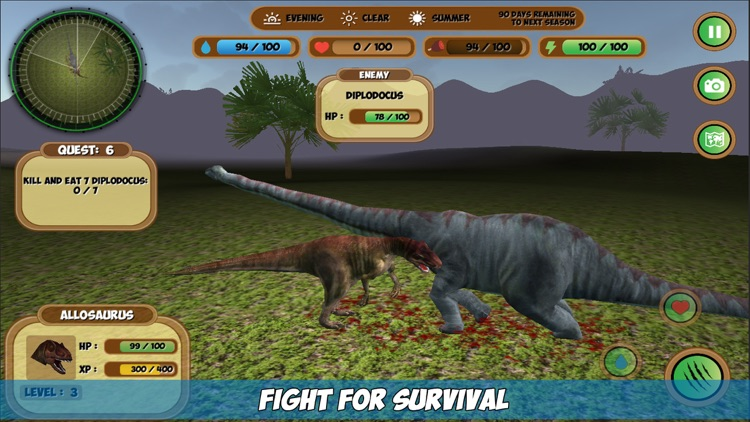 Allosaurus Simulator screenshot-0