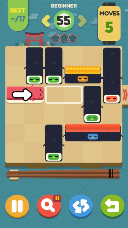 Push Sushi - slide puzzle screenshot-4
