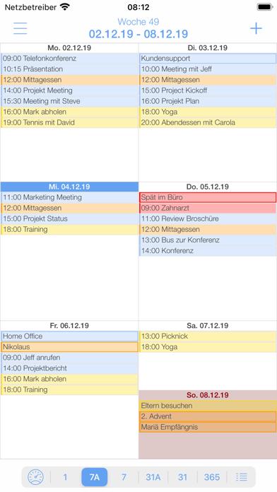miCal - der KalenderScreenshot von 6