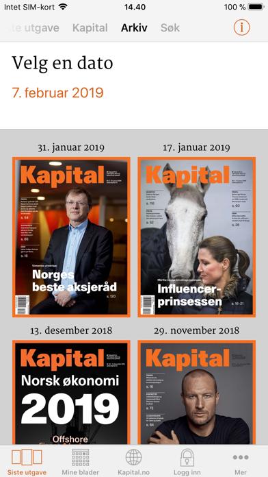 Kapital screenshot four