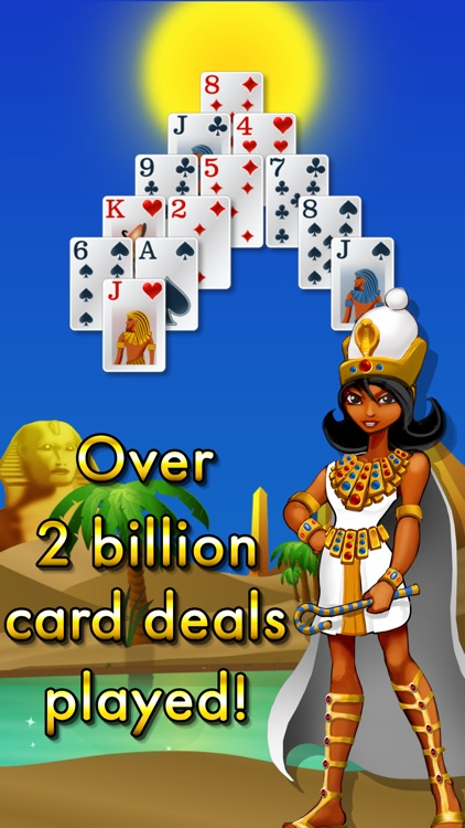 Pyramid Solitaire - Egypt screenshot-4