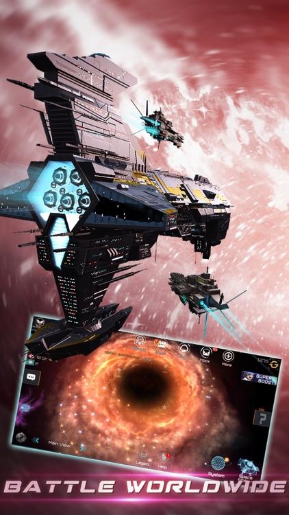 Nova Empire: Space Battle MMO screenshot-4