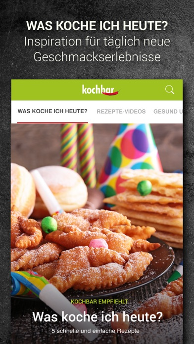Screenshot for kochbar: Rezepte für jeden Tag in South Africa App Store