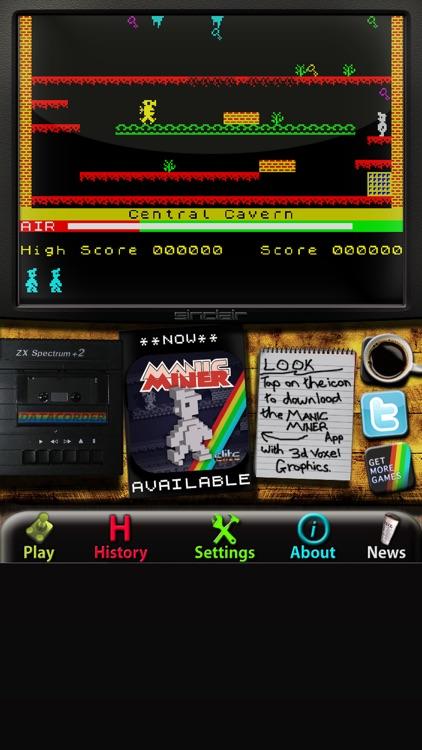 Manic Miner: ZX Spectrum screenshot-3