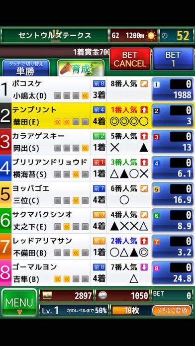 競馬メダルゲーム『ダービーウィナー』Derby Winnerのおすすめ画像3