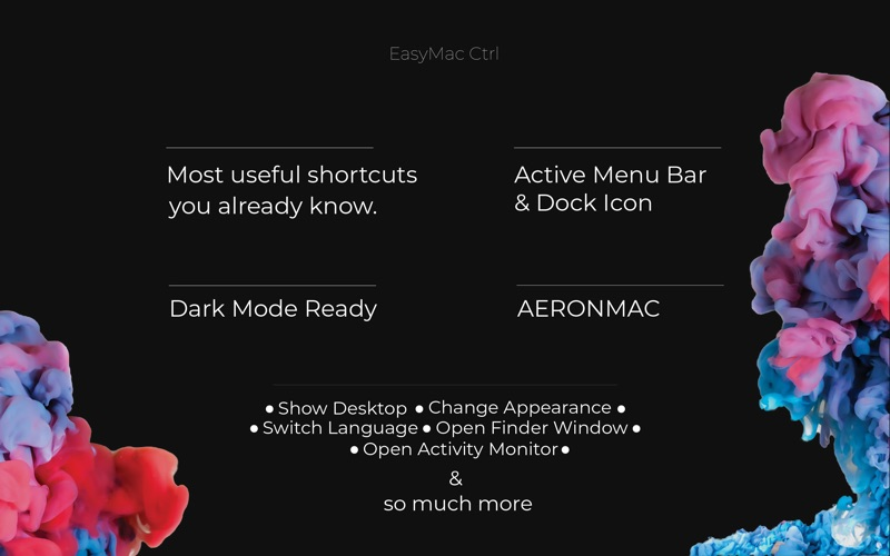 Easy McControl -Shortcuts&More скриншот программы 2