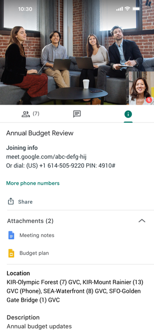 Hangouts Meet by Google on the App Store