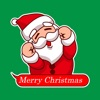 Santa Wishes Animated Stickers