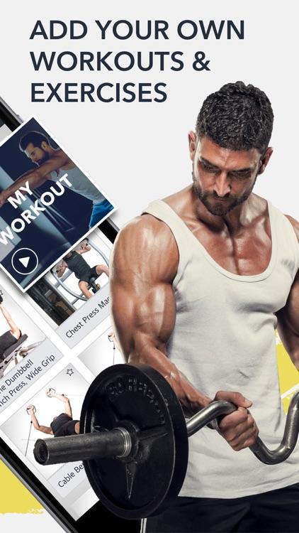 Workout: Gym tracker & planner screenshot-6