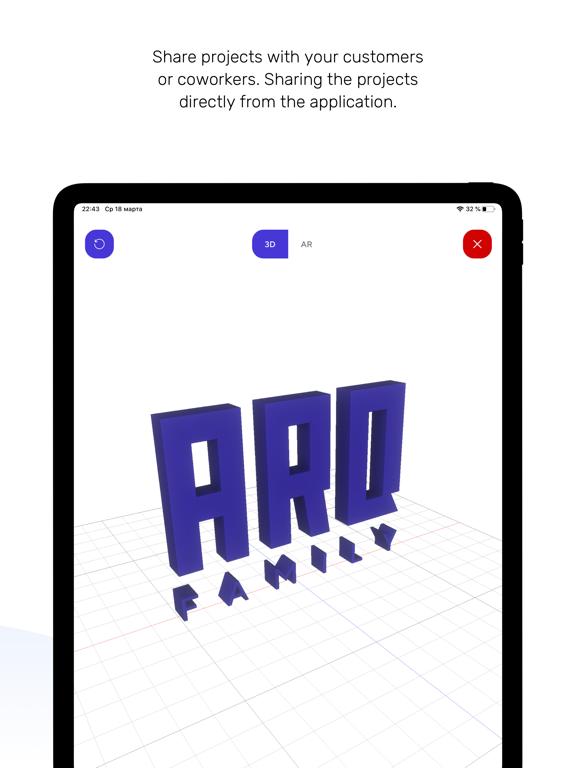 ARQ Viewer - 3D viewer in AR screenshot