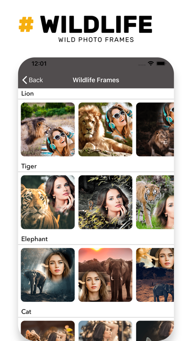 Wildlife Photo Frame Unlimited screenshot three