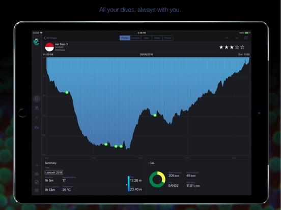 MacDive screenshot