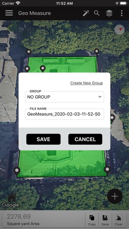 Geo Measure Area Calculator