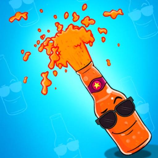 bottle Tap up & pop 3D