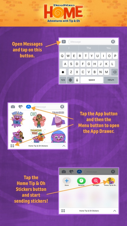 Home Tip & Oh Stickers