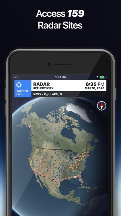Weather Lab - 3D Radar screenshot-3