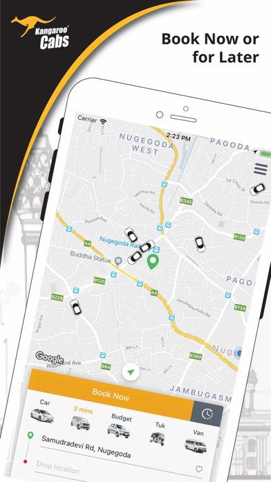 Kangaroo Cabs 2588588 screenshot one