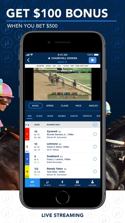 TwinSpires Horse Race Betting screenshot-0