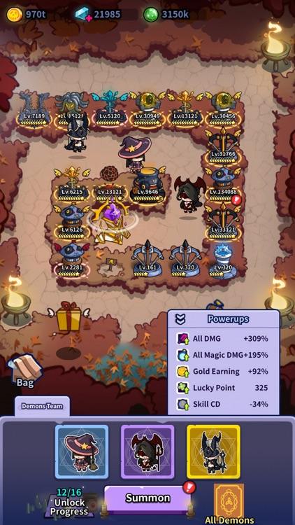 Idle Defense: Dark Forest screenshot-5