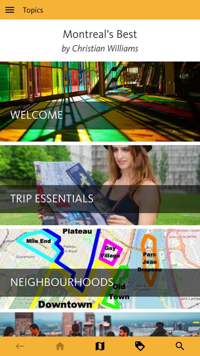 Montreal's Best: Travel Guide screenshot 1