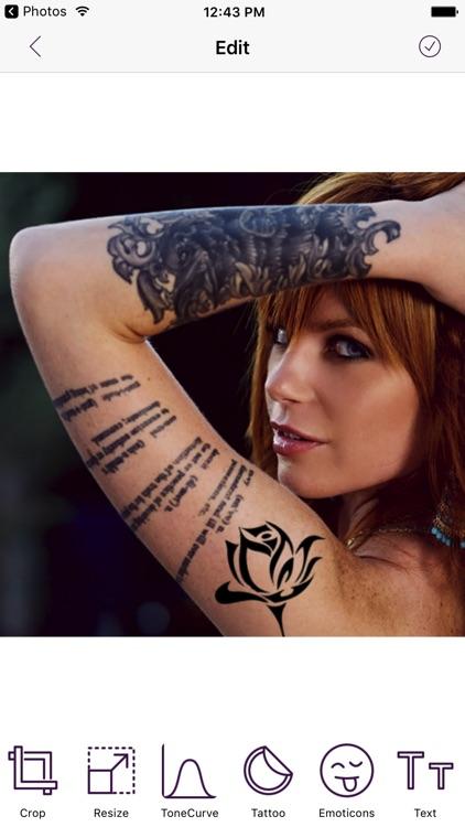 Tattoo My Photo And Name screenshot-3