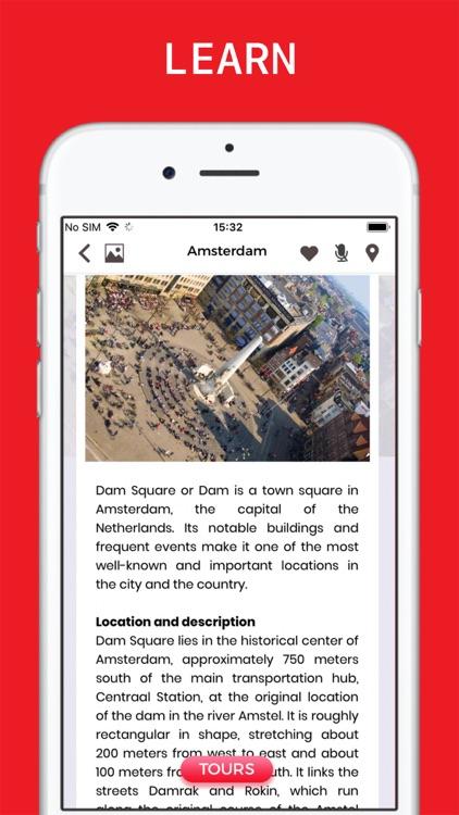 Amsterdam Travel Guide & Map . screenshot-4