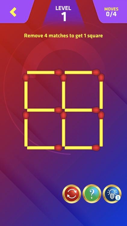 Matchstick Puzzle King Pop