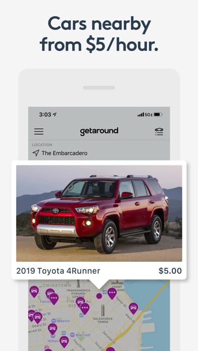 Getaround - Instant Car Rental screenshot three