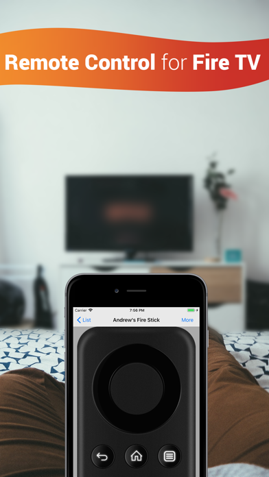 Remote Control for Fire TV app image