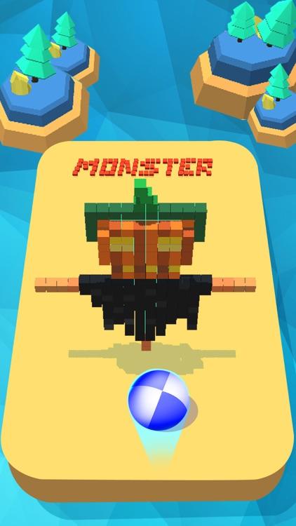 Monster vs Ball 3D