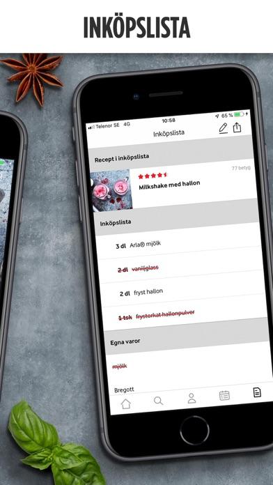 Arla Köket - Recept och mat screenshot three
