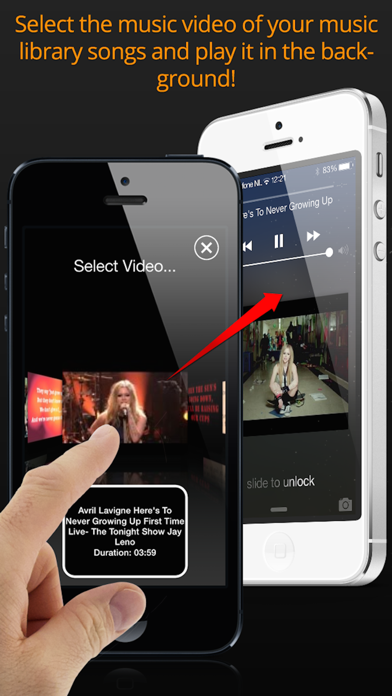 AudioViz  - View Songs screenshot four