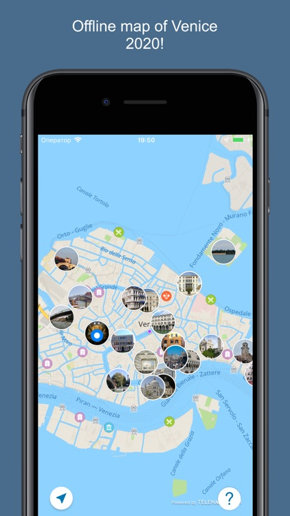 Venice 2020 — offline map