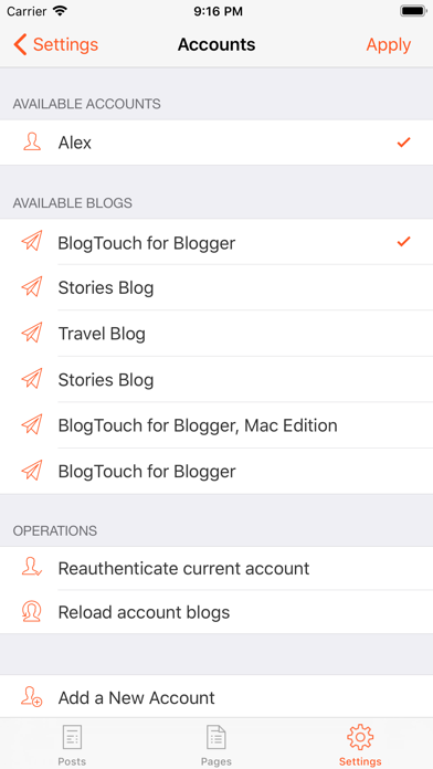 Descargar BlogTouch for Blogger para Android