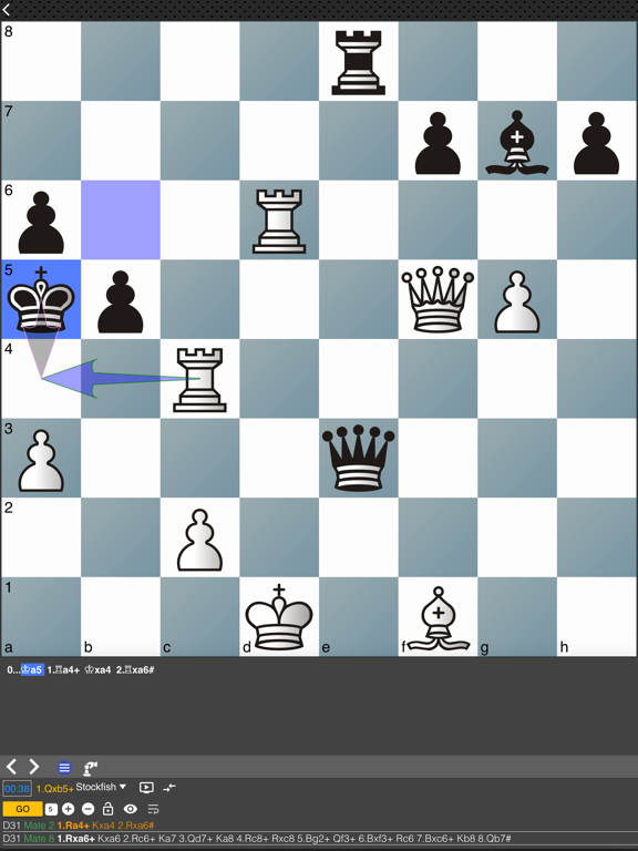 Ipad Screen Shot Chess Tempo: Chess tactics 3