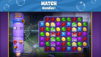 Wonka's World of Candy Match 3 Screenshot