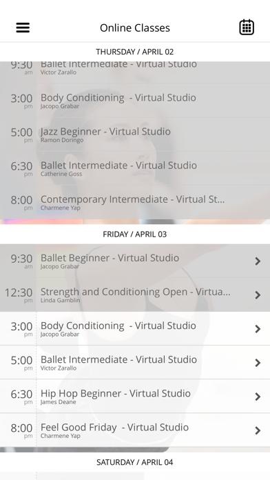 Sydney Dance Company Classes screenshot two