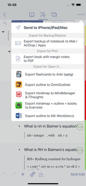 MarginNote 2 Pro Screenshot