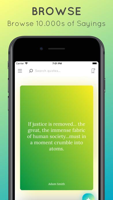 Screenshot for My Sayings in Japan App Store