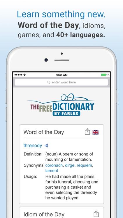 Dictionary. screenshot-3