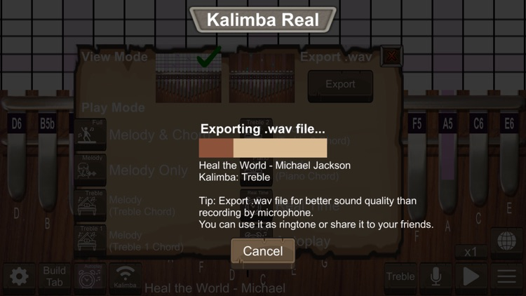 Kalimba Real screenshot-8