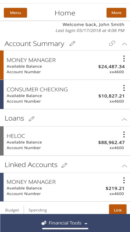 Visions FCU Mobile screenshot-1