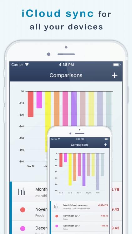 MoneyStats - Expense Tracker screenshot-6