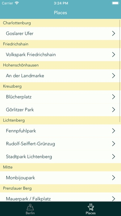BBQ. Grilling spots in Berlin screenshot #3