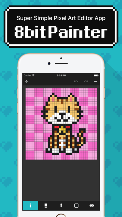 8bit Painter - Pixel Art App