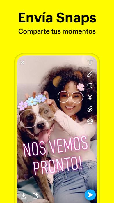 Screenshot for Snapchat in Spain App Store