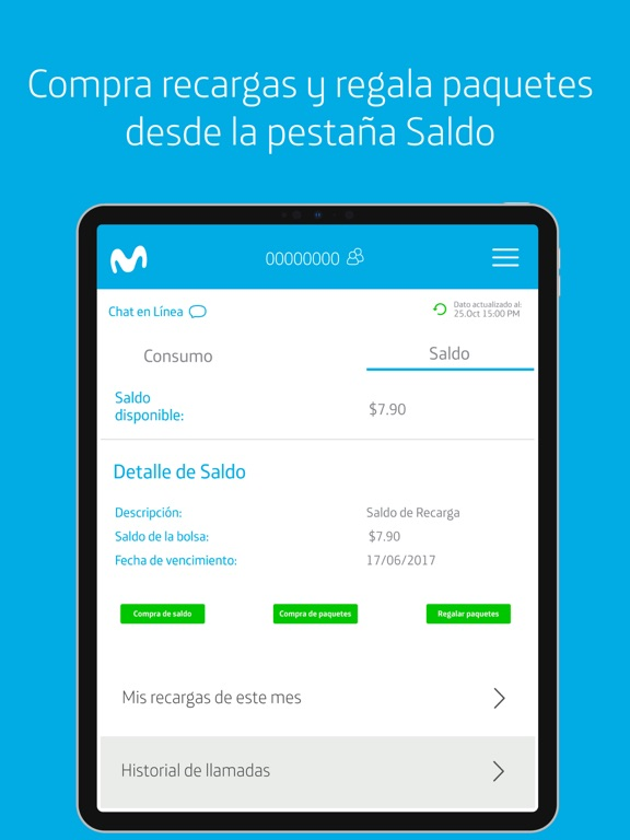 Mi Movistar Nicaragua screenshot 9