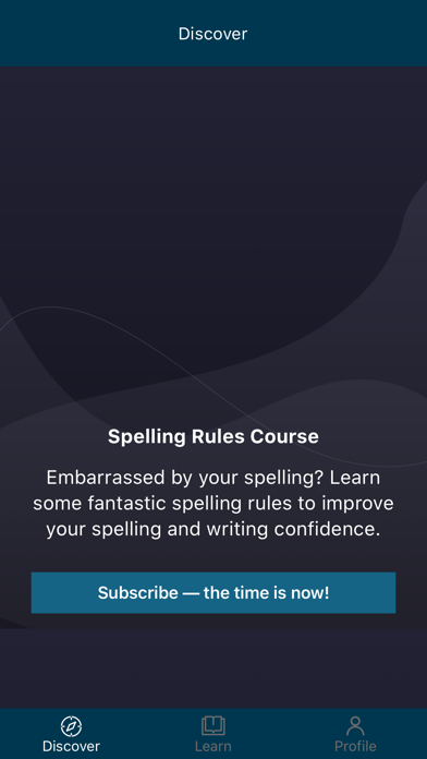 Spelling Rules Course screenshot 2
