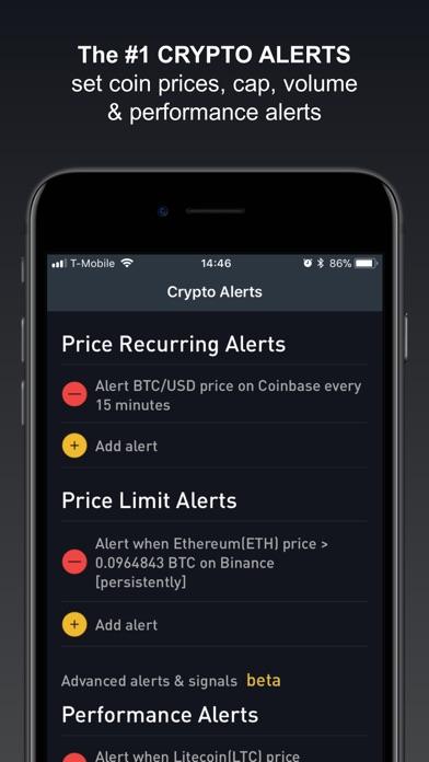 Crypto Tracker by BitScreener Screenshot